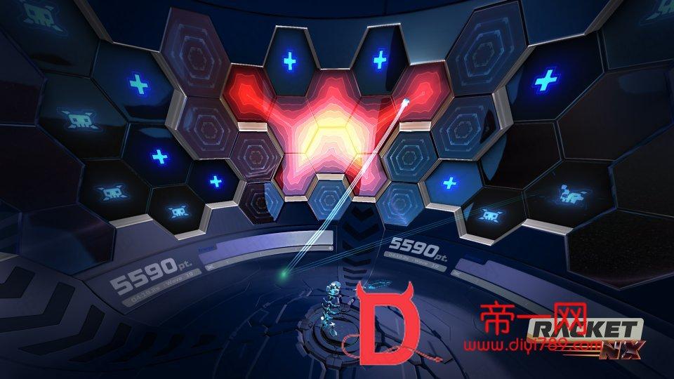 新版Oculus Quest 游戏《VR球拍/壁球》Racket: Nx VR游戏中文版下载