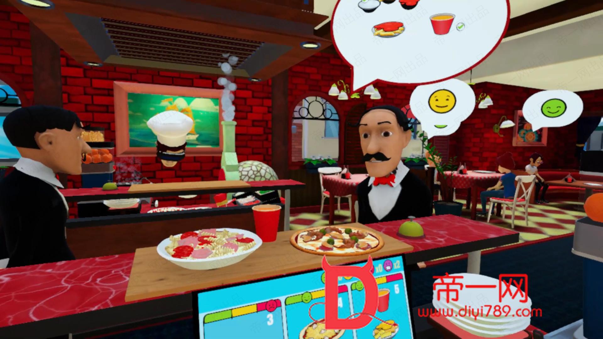 新版Oculus Quest 游戏《Clash of Chefs VR》模拟烹饪VRv1.0下载