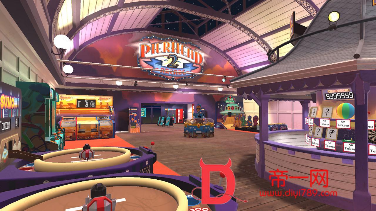 新版Oculus Quest 游戏《Pierhead Arcade 2 VR》码头街机厅v2.1.3.82下载